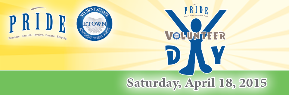 PRIDE Volunteer DAY 2015