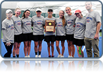Women's Tennis Three-Peats as Landmark Champions