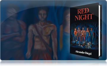 'Red Night' book cover - Diegel '10